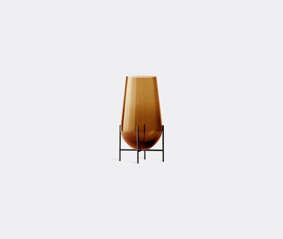 Menu 'Echasse' vase, amber, small