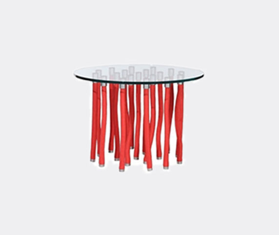 Cappellini 'Org' table, red