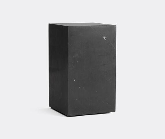Menu Tall 'Plinth', black marble