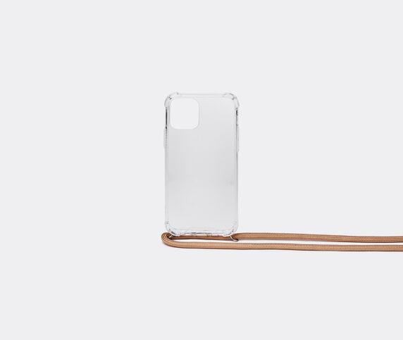 Wood'd iPhone 11 necklace case, beige