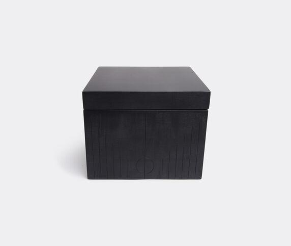 Zanat 'Branco' box, small, black
