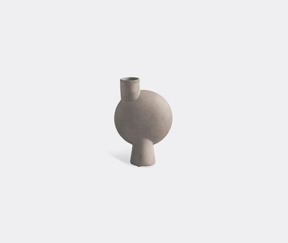 101 Copenhagen 'Sphere' medium vase, bubl, taupe
