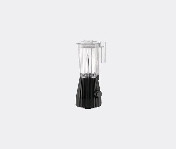 Alessi 'Plissé' blender, black, UK plug