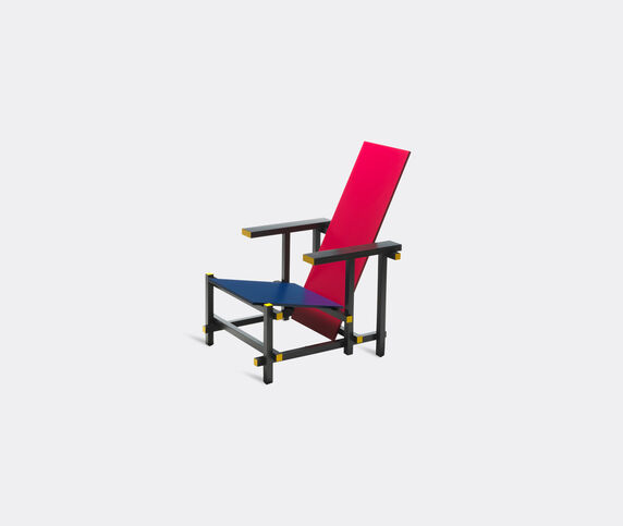 Cassina 'Red and Blue' armchair