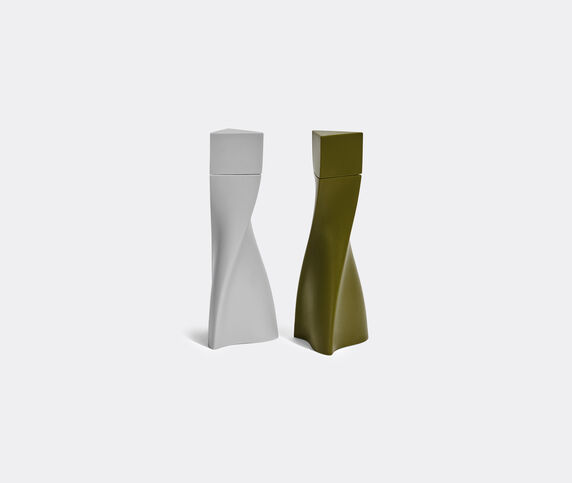 Zaha Hadid Design 'Duo' salt and pepper set, grey