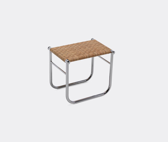 Cassina 'LC9' stool, rattan