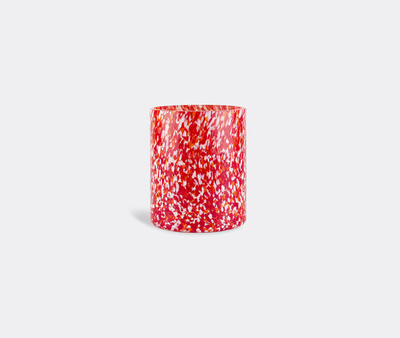 Stories of Italy 'Macchia su Macchia' red and ivory vase, medium