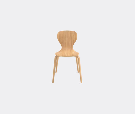 Viccarbe 'Ears' chair, wooden legs