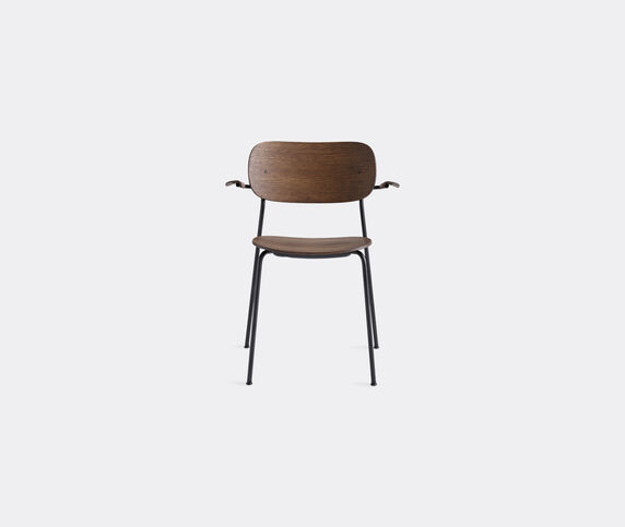 Menu 'Co Chair' with armrests, brown