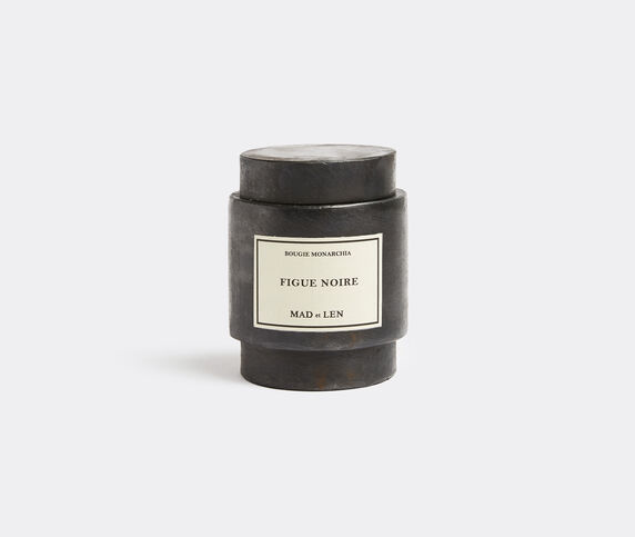 Mad & Len 'Monarchia' candle, Figue noire