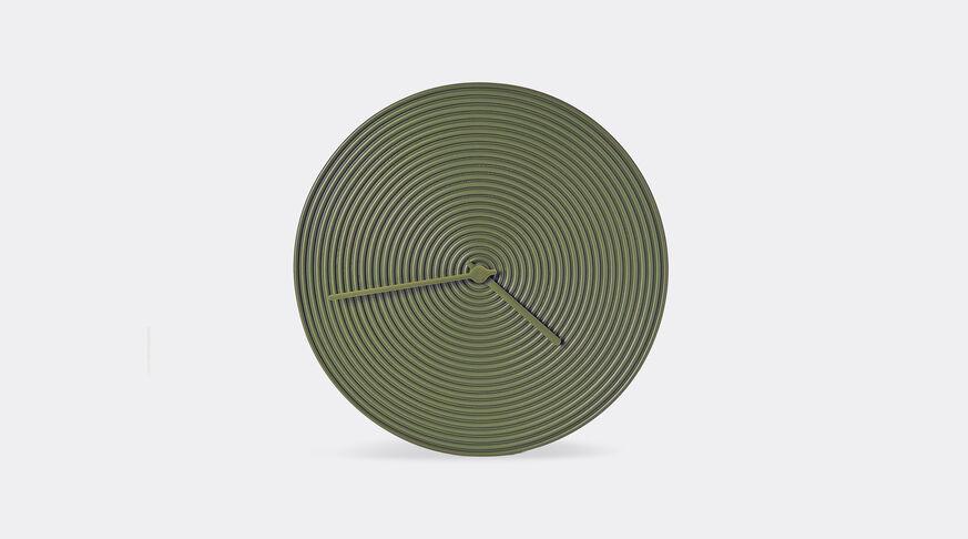 Atipico Ring Clock Ceramic Wall Clock - Ø Mm 335Xh.35 - Olive Green 1