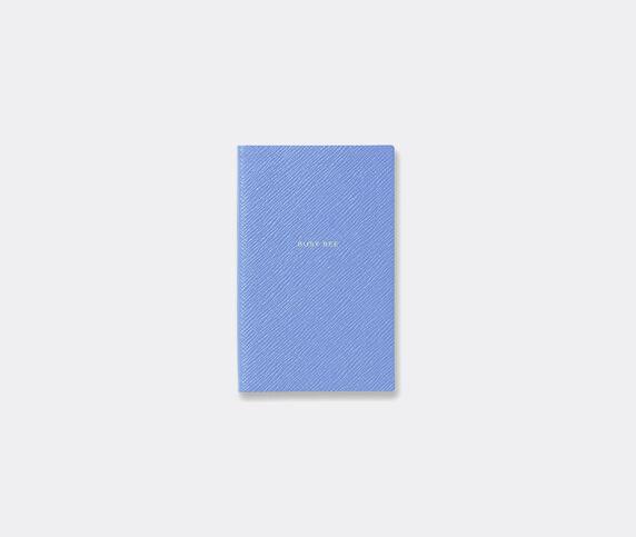 Smythson 'Busy Bee' notebook, Nile blue
