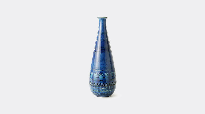 Bitossi Ceramiche Bottiglia Cm.36 H. R.B. 1