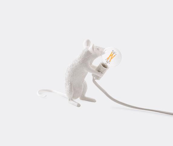 Seletti 'Mouse' lamp sitting, US plug