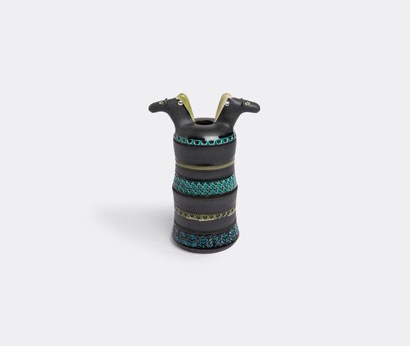 Bitossi Ceramiche 'Two horse heads' vase