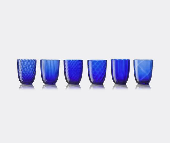 NasonMoretti 'Idra' water glass, set of six, blue
