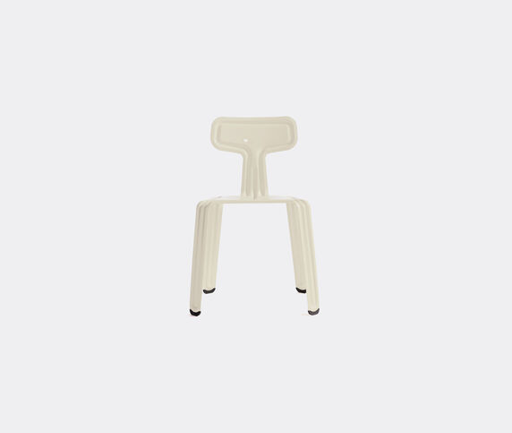 Nils Holger Moormann 'Pressed Chair', glossy white
