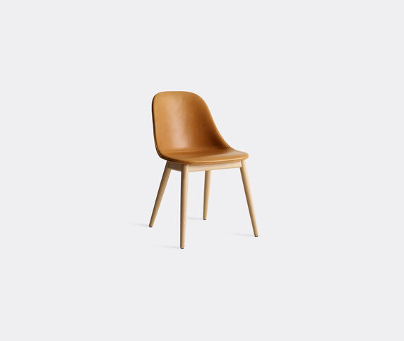 Menu 'Harbour Dining Side Chair', brown leather