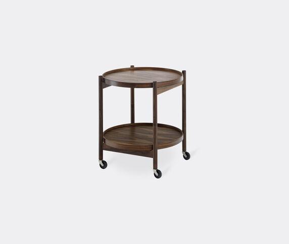 Brdr. Krüger 'Bølling' tray table, 500mm, walnut