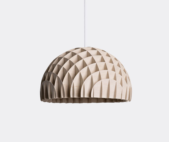 Lawa Design 'Arc' pendant polywood, white cord