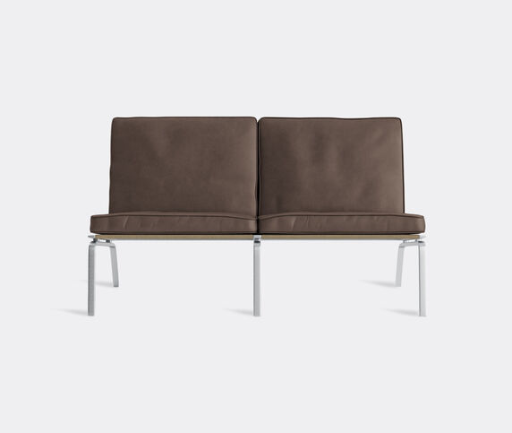 NORR11 'The Man' two seat couch, dark brown