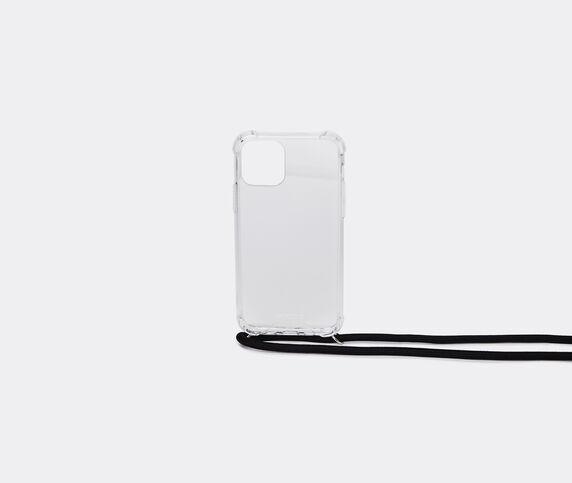Wood'd iPhone 11 necklace case, black