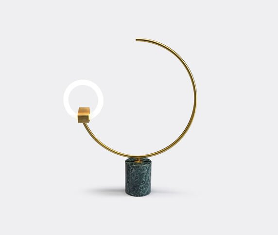 CT Lights 'Arges' table and floor lamp, green