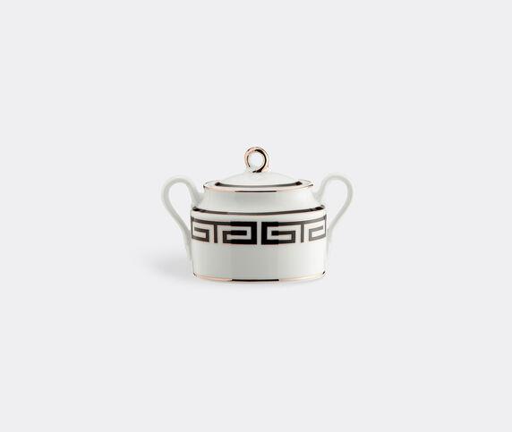 Ginori 1735 'Labirinto' sugar bowl, black