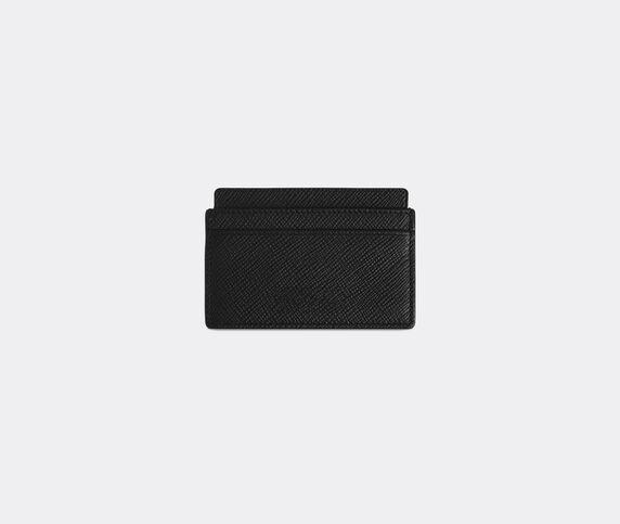 Smythson 'Panama' card holder, black