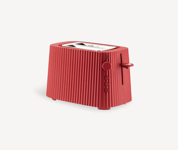 Alessi 'Plissé' toaster, red, EU plug