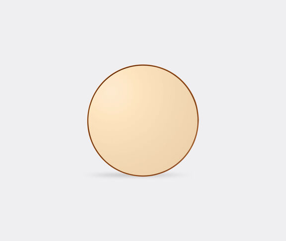 AYTM 'Circum' mirror, amber