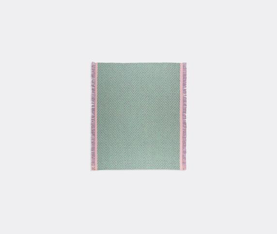 Cc-tapis 'Cultivate' rug, mint chevron