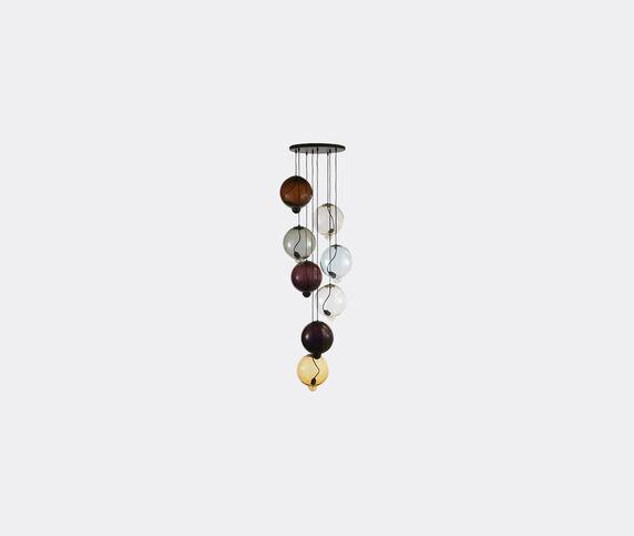 Cappellini 'Meltdown' lamp, eight pendants, UK plug