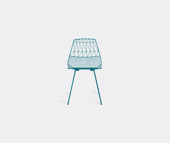 Bend Goods 'Lucy' side chair, peacock