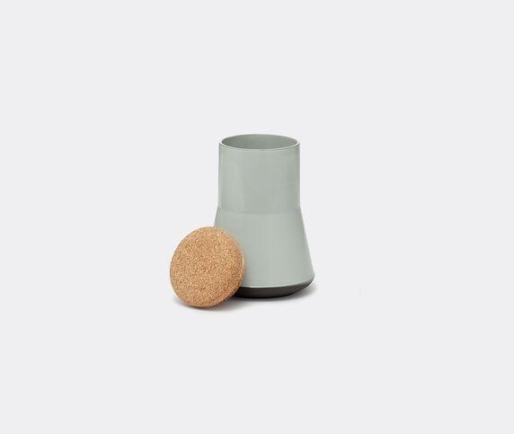 Established & Sons 'Store' jar, L, gloss grey