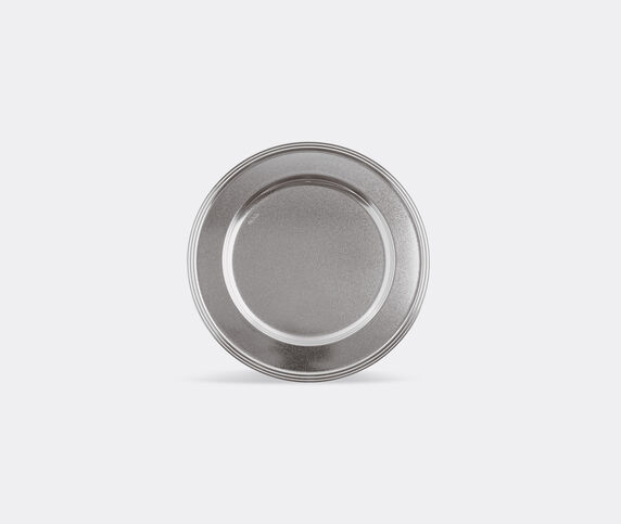 Sambonet 'Diamond Avenue' show plate, silver