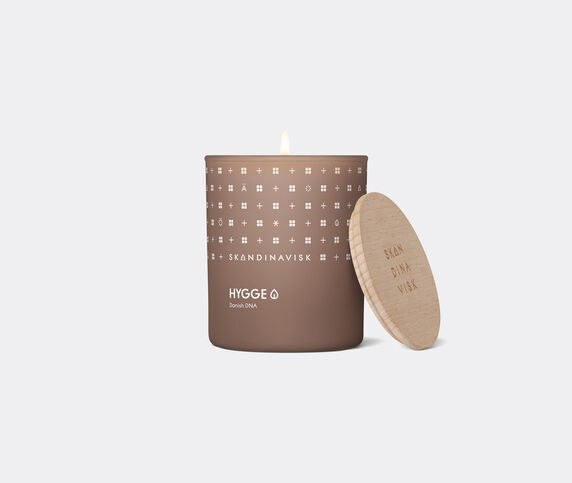 Skandinavisk 'Hygge' scented candle with lid