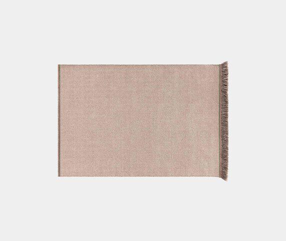 GAN 'Garden Layers Diagonal' rug, almond-ivory