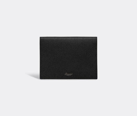Pineider '720' business card holder, black