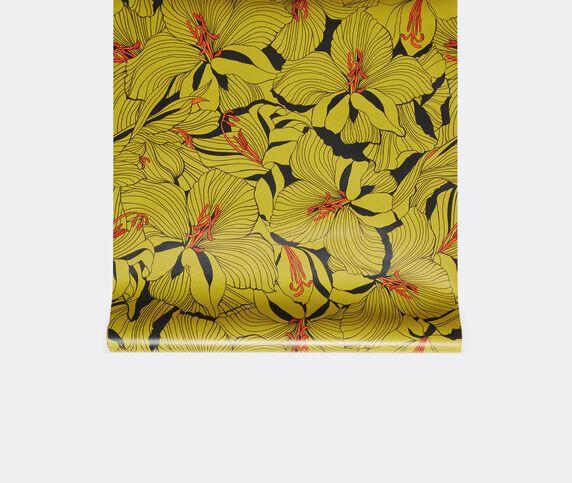 Gucci 'Lilies' wallpaper, yellow