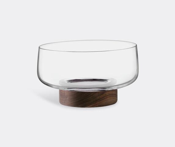 LSA International 'City' bowl and walnut base