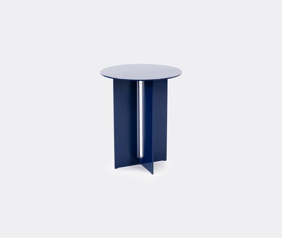 New Format Studio 'Mers' side table, pacific blue