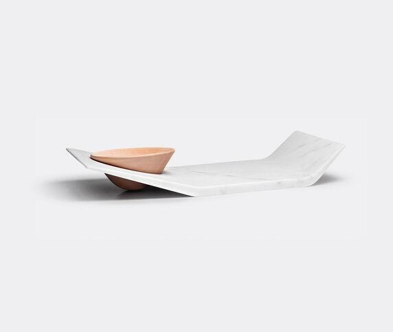 Luce di Carrara 'Filo' tray with bowl