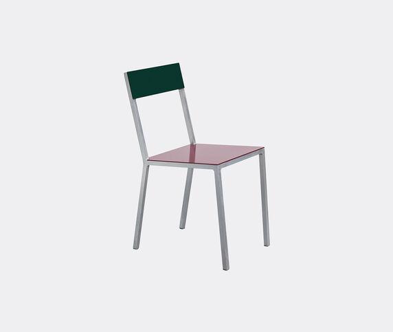 Valerie_objects 'Alu' chair, burgundy green