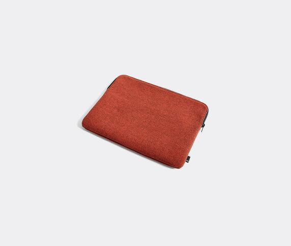 Hay 'Hue' laptop cover, medium, rust