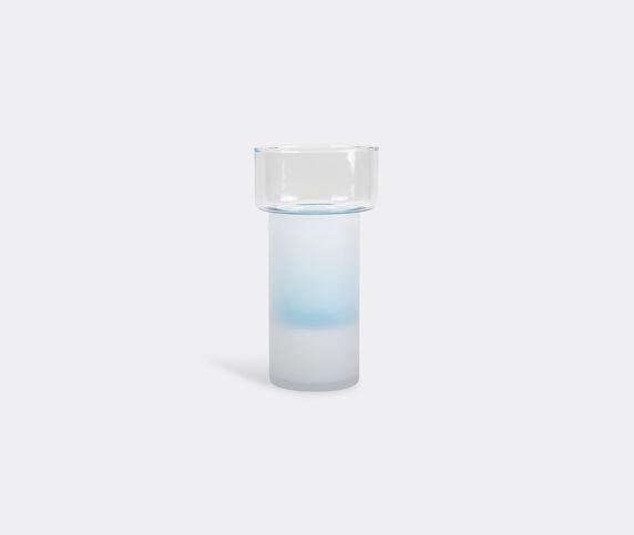 XLBoom 'Benicia vase Two', white and blue