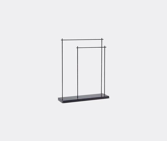 Aparentment 'Marblelous' rack, iron and black