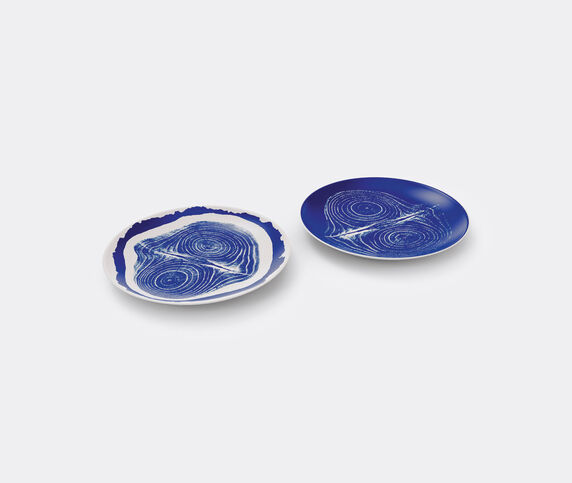 Cassina 'Tronc' flat plates, set of two