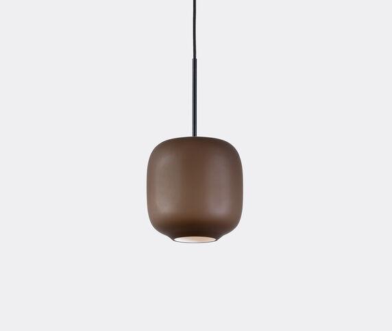 Cappellini 'Arya' hanging lamp, small, brown, UK plug