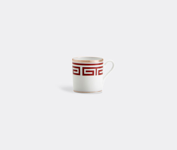 Ginori 1735 'Labirinto' coffee cup, set of two, red